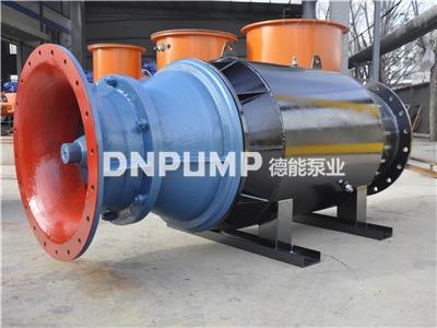 河道排水大流量卧式轴流泵选型方案